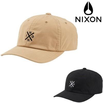 NIXON DEL MAR STRAP BACK CAP 正規取扱店 ニクソン キャップ ストラップバックキャップ 帽子