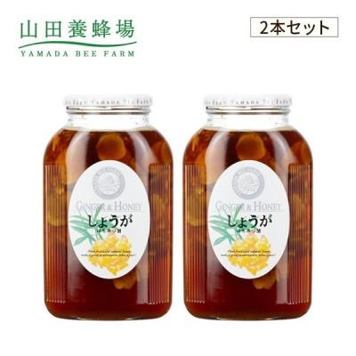 山田養蜂場 しょうがはちみつ漬 <900g×2本>