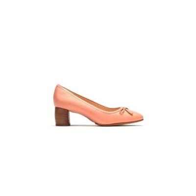シューズ カジュアル 靴 Clarks クラークス カラー:Pink Leather Grace Maya お取り寄せ商品