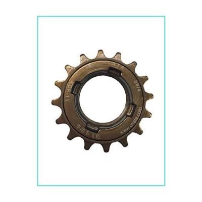 NBpower Single Speed Bike Bicycle Freewheel, Bicycle Freewheel Cassette Sprocket Single Speed 16T Bike Parts【並行輸入品】