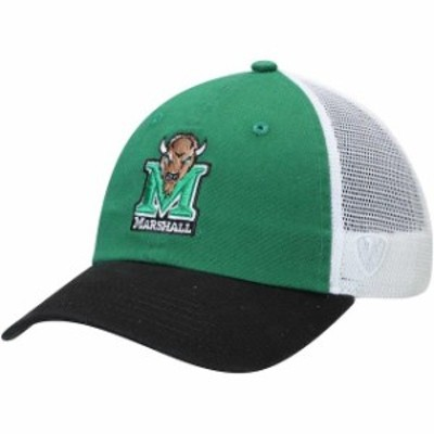 Top of the World トップ オブ ザ ワールド スポーツ用品  Top of the World Marshall Thundering Herd Kelly Green Backroad Trucker Ad