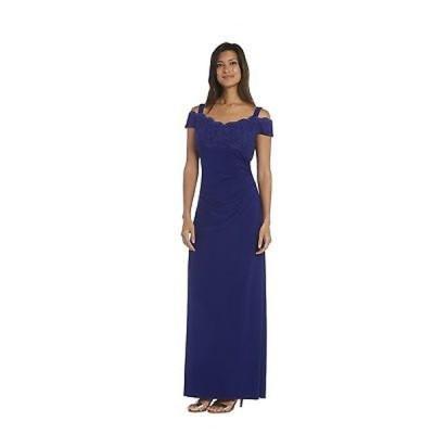 ドレス 海外セレクション R&M Richards Lace Evening Gown