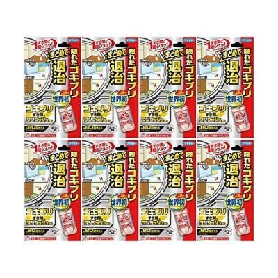 【まとめ買い】フマキラー ゴキブリ 駆除 殺虫剤 スプレー ワンプッシュ 約80回分×8個
