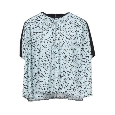 PROENZA SCHOULER ブラウス  レディースファッション  トップス  シャツ、ブラウス  長袖 スカイブルー