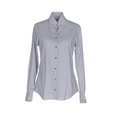 XACUS シャツ グレー 46 コットン 72% / ナイロン 25% / ポリウレタン 3% シャツ