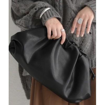 antiqua / バッグ 個性的なボリュームデザイン。トレンド感満載の2WAYバッグ WOMEN バッグ > ショルダーバッグ