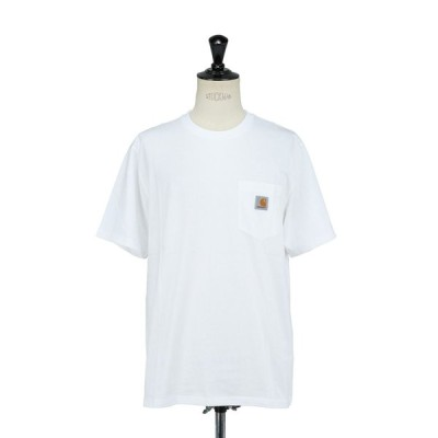 S/S POCKET T-SHIRT / WHITE(I022091) Carhartt WIP(カーハートダブルアイピー)