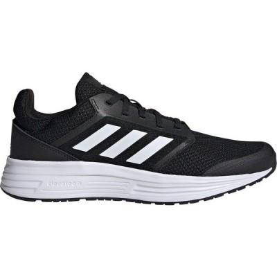アディダス スニーカー シューズ メンズ adidas Men's Galaxy 5 Running Shoes Core Black/White