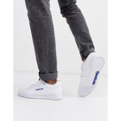 リーボック メンズ スニーカー シューズ Reebok Workout Plus Sneakers In White 2759 Wh1 - white 1