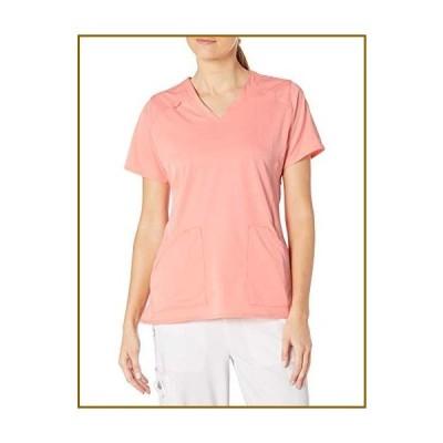 Carhartt レディース マルチポケット Vネックトップ US サイズ: Large カラー: ピンク【並行輸入品】