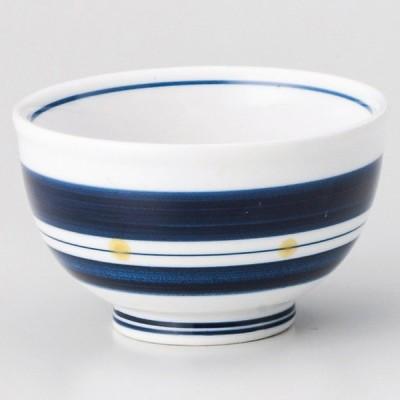 業務用食器 帯水玉煎茶 φ9×5.1�(160�)