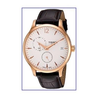 Tissot Men's Rose Gold Leather Strap Watch