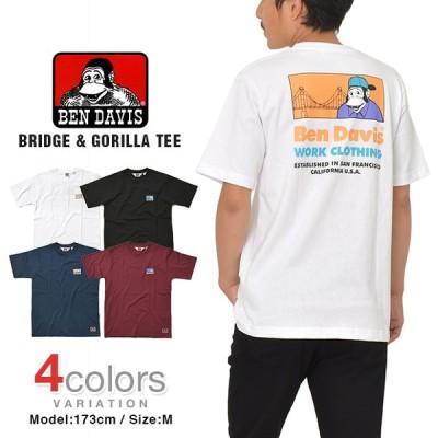 ベンデイビス Tシャツ BEN DAVIS BRIDGE & GORILLA メンズ レディース