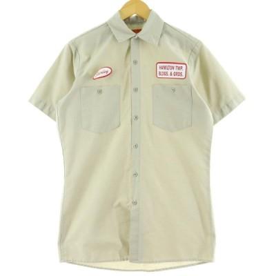 70年代 ディッキーズ 半袖 ワークシャツ USA製 M /eaa061413