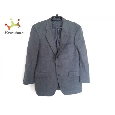 ダックス DAKS ジャケット サイズ98AB6 メンズ ネイビー×ブルー ネーム刺繍   スペシャル特価 20201007