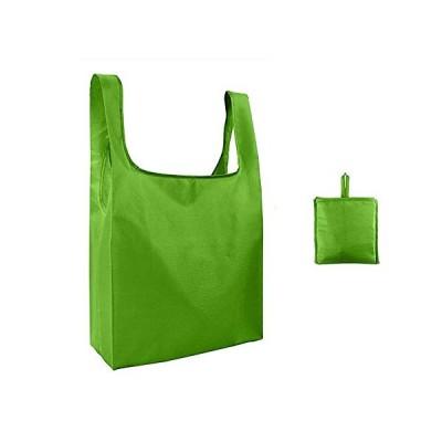 LAMTO エコバッグ 買い物袋 繰り返し可 折りたたみ 買い物バッグ かごサイズ コンパクトショッピングバッグ 防?