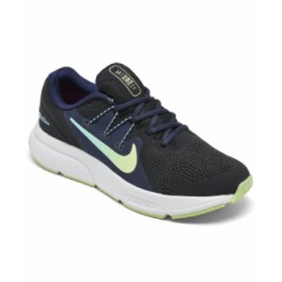 ナイキ レディース スニーカー シューズ Women's Zoom Span 3 Running Sneakers from Finish Line Black Light Liquid