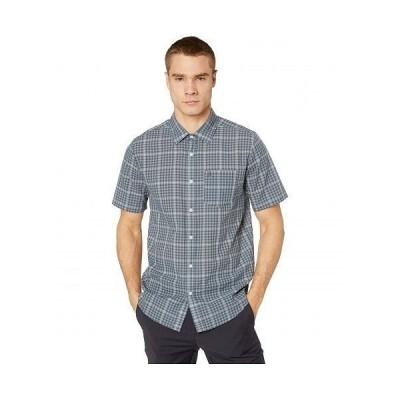 Volcom ヴォルコム メンズ 男性用 ファッション ボタンシャツ Kelso Plaid Short Sleeve - Stormy Blue