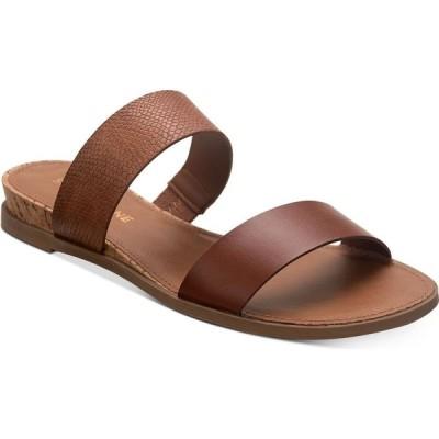 サンストーン Sun + Stone レディース サンダル・ミュール シューズ・靴 Easten Slide Sandals Taupe Snake