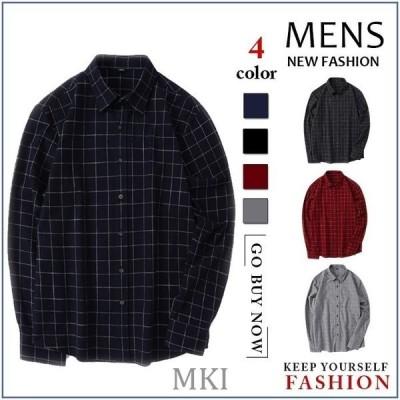 シャツ メンズ ボタンダウンシャツ カジュアルシャツ 長袖 メンズ 細身 無地 綿シャツ トップス ビジネス 2020