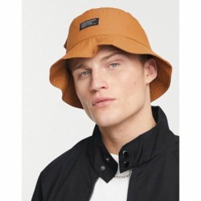 リーバイス Levis メンズ ハット バケットハット 帽子 LeviS Bucket Hat In Tan With Pocket タン