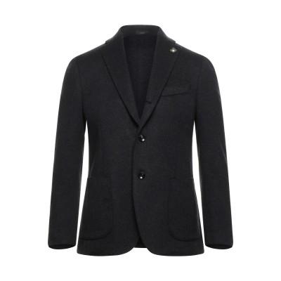 ラルディーニ LARDINI テーラードジャケット スチールグレー 50 ウール 100% テーラードジャケット