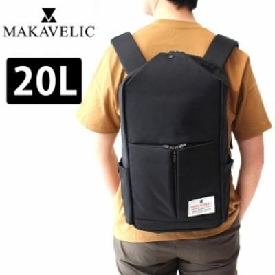 ポイント10倍 マキャベリック リュック MAKAVELIC TRIANGLE DAYPACK A4 B4 トライアングル デイパック 黒 3120-10107 20L