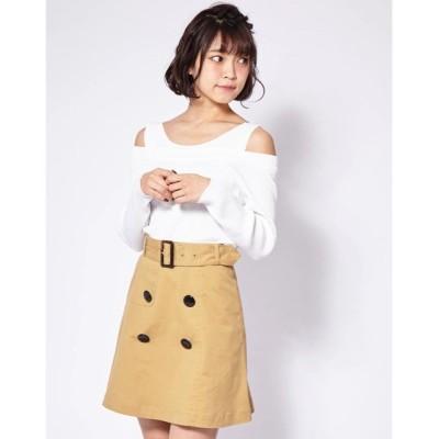 スカート トレンチスカート