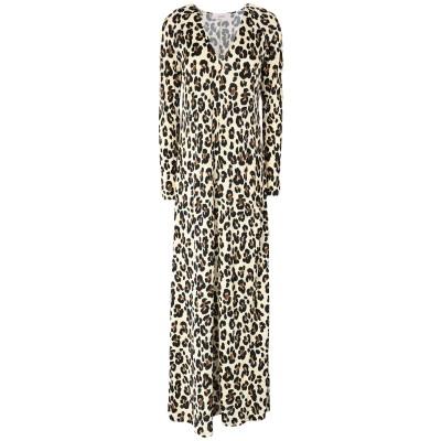 ジャッカ JUCCA ロングワンピース&ドレス アイボリー 44 レーヨン 100% ロングワンピース&ドレス