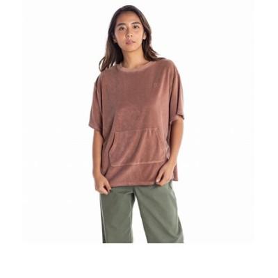 【ROXY ロキシー 公式通販】ロキシー(ROXY)HANDRAIL UVカット 製品染め パイル Tシャツ