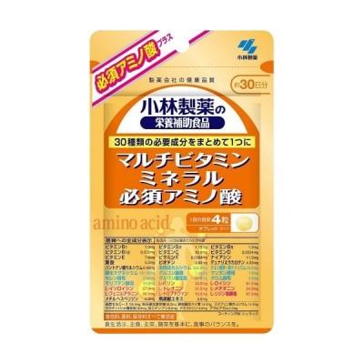 【あわせ買い2999円以上で送料無料】小林製薬 マルチビタミンミネラル必須アミノ酸 120粒