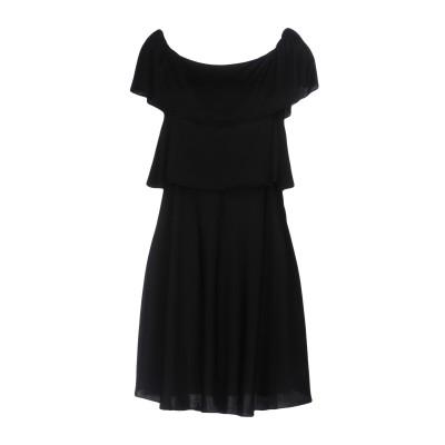 ソニア リキエル SONIA RYKIEL ミニワンピース&ドレス ブラック 38 レーヨン 59% / アセテート 41% ミニワンピース&ドレス
