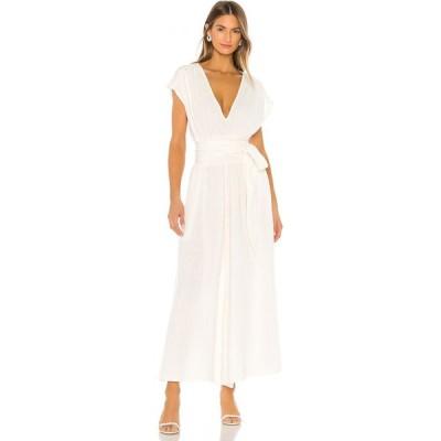 アナーク ANAAK レディース オールインワン ジャンプスーツ ワンピース・ドレス Anneka Deep V Jumpsuit Ivory
