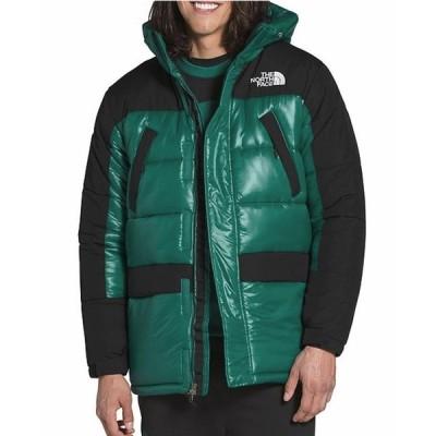 ノースフェイス The NorthFace  HMLYN Insulated Hooded Jacket セミロング ジャケット EVER GREEN
