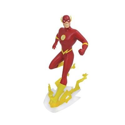 DIAMOND SELECT TOYS DC Gallery: Justice League Unlimited Animated Flash PVC Vinyl Figure