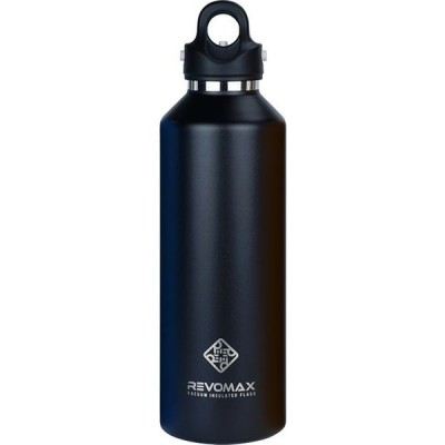 真空断熱ボトル REVOMAX サーモボトル 950ml オニキスブラック