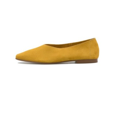 3441 SQUARE SOFT PPS SUEDE GIALLO 612389-0001