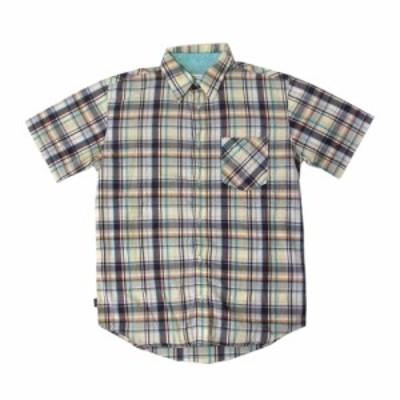 美品 TOMMY HILFIGER トミーヒルフィガー タータンチェックシャツ (半袖 定番) 116709【中古】