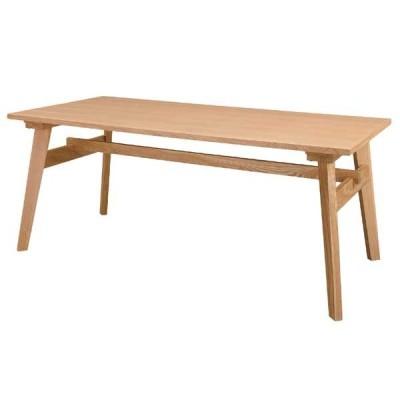 ダイニングテーブル 食卓机 カフェテーブル リビングテーブル 天然木 アッシュ 幅160cm AZ-0104