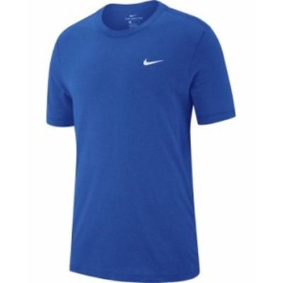 ナイキ メンズ Tシャツ トップス Men's Dri-FIT Training T-Shirt Game Royal