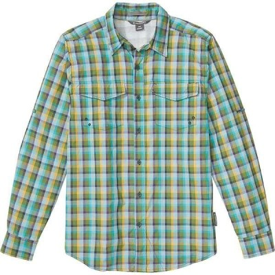 エクスオフィシオ メンズ シャツ トップス ExOfficio Men's Estacado LS Shirt