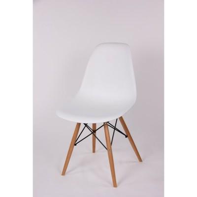 チェア イームズ シェルチェア ホワイト DSW 木脚 イス 椅子 ダイニングハイサイドチェア ウッドベース ミッドセンチュリー Eames ダイニングチェア