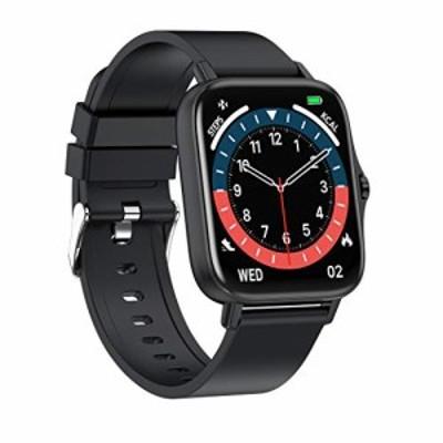 スマートウォッチ Bluetooth通話 2021最新版 1.7インチ大画面 着信通知 腕時計 活動量計 多種類運動モード 音楽再生 ストップウォッチ FB