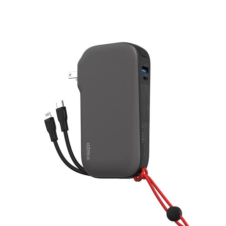 IDMIX MR CHARGER 10000 CH07 雙線快充行動電源|三個願望 一機滿足