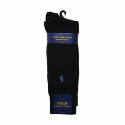 POLO RALPH LAUREN ソックス 8070PK 3足セット color401 Casual メンズ 靴下 綿混 ワンポイント プレゼント ギフト 父の日【送料無料】