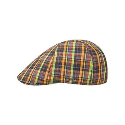 Stetson Texas Summercheck Flat Cap Men Mixed Colours L (7 1/4-7 3/8)