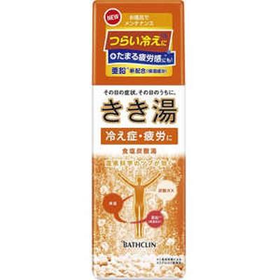 バスクリン きき湯 食塩炭酸湯 360g(ボディケア用品) キキユショクエンタンサンユ