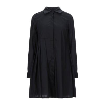 ブルーガール ブルマリン BLUGIRL BLUMARINE ミニワンピース&ドレス ブラック 40 コットン 97% / ポリウレタン 3% ミニ