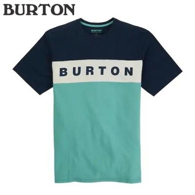 バートン Tシャツ 20-21 BURTON LOWBALL SHORT SLEEVE T SHIRT Dress Blue/Buoy Blue アパレル トップス 半袖 日本正規品