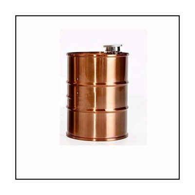 【新品】Flagon Hip Flask Oil Drums Flagon Travel Portable Stainless Steel Alcohol Liquor Hip Flask Gift並行輸入品